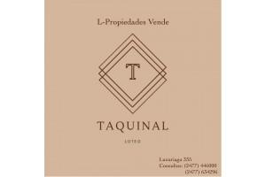 """"""" TAQUINAL"""" OPORTUNIDAD HASTA EL 31 DE JULIO 2021 -LOTEO EN LUAR KAYAD-"""